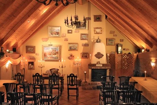 Trauzimmer im Café-Restaurant Mausefalle